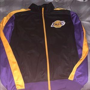 Lakers warmup